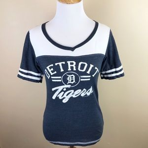 Women's Detroit Tigers V-Neck Tee